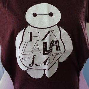 Disney Tops - Disney Big Hero 6 Baymax Tee Shirt Sz L